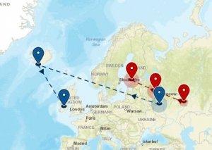 Migratie GPS origins