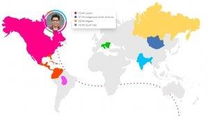 migratie kaart voorouders