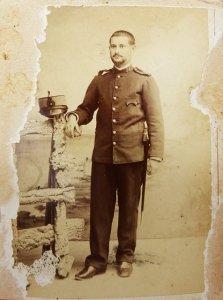 oude foto van man