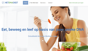 de website van hetdnadieet.nl